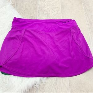 Fabletics Stretch Fushia Active Tennis Skirt 3205